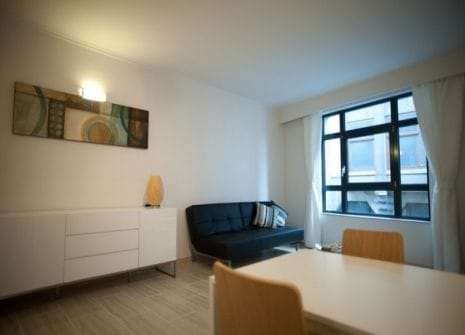 Furnished apartment for rent near the park in Antwerp