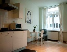 Serviced studio with easy access to the port of Antwerp